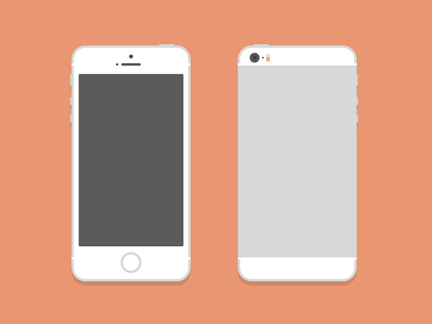 White-iPhone-5S-Mockup-PSD