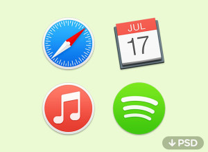 Yosemite-Icons-PSD-and-ICNS