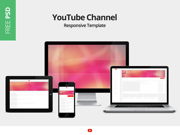 YouTube-Channel-Responsive-Template
