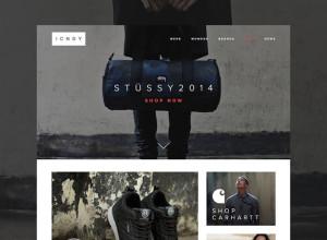 eCommerce Clothing-Site-Freebie-ICNDY