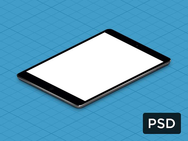 iPad-Mini-True-Isometric-PSD