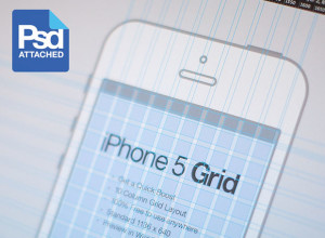 iPhone-5-Grid-PSD