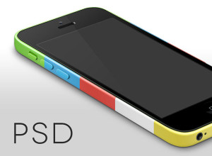 iPhone-5c-Template