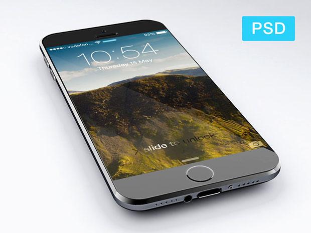iPhone-6-PSD-Free-PSD-Mockup