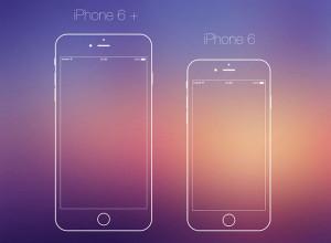 iPhone6-Vector-PSD