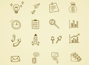 16-Hand-Drawn-Business-Icon