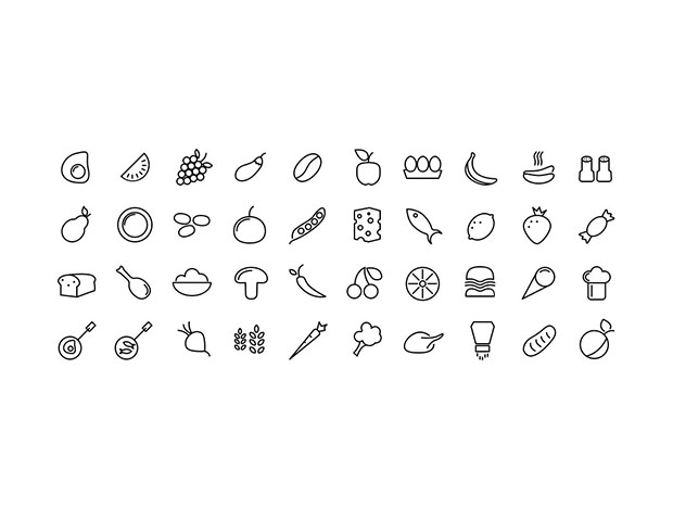 40-Food-Icons