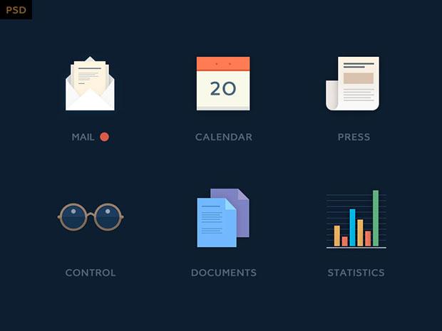 6-Mini-icon-kit-free-psd