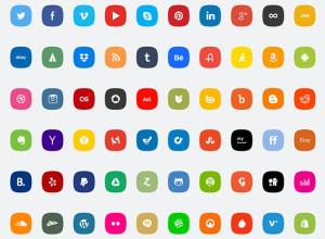 60-Social-media-PSD-icons-set
