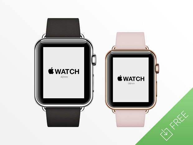 Apple-Watch-Free-Psd-Mockup