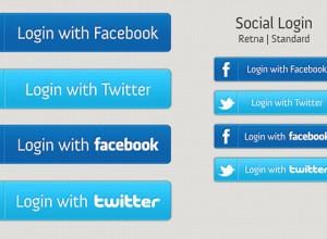 Blue-Facebook-&-Twitter-Login-Buttons-Set-PSD