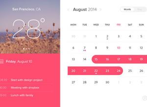 Calendar-Window-UI-Psd
