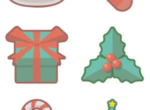Christmas-Holidays-Free-Icon-Set