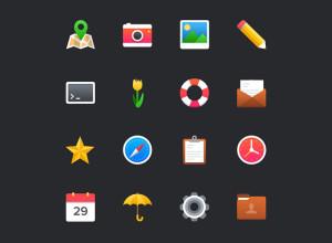 Free-16-Colorful-Icon-Set