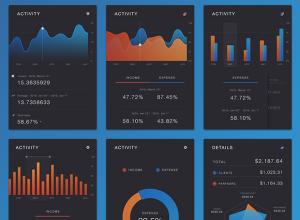 free-psd-charts-kit
