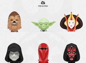 Free-Set-of-Star-Wars-Avatars