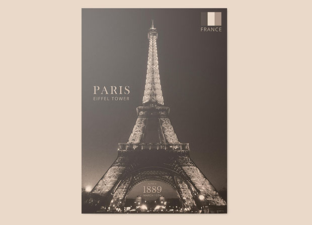 free-paris-eiffel-tower-poster-layered-editable-psd