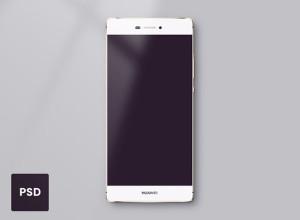 Huawei-P8-Template-PSD-freebie