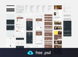 Material-Design-UI-Kit-freebie