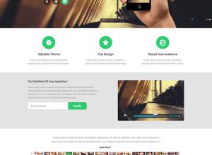 Notify-Free-PSD-HTML-Design