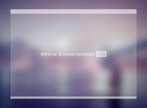 PSD-Minimal-Browser-Template