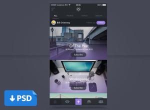 Photos-App-PSD