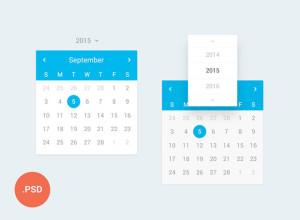 UI-Calendar-FREE-PSD