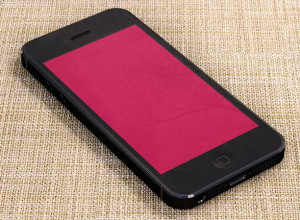 iPhone-5-Black-Psd