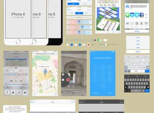 iPhone-6-Gui-Kit-Psd