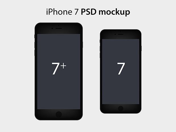 iPhone-7-mockup-Flat
